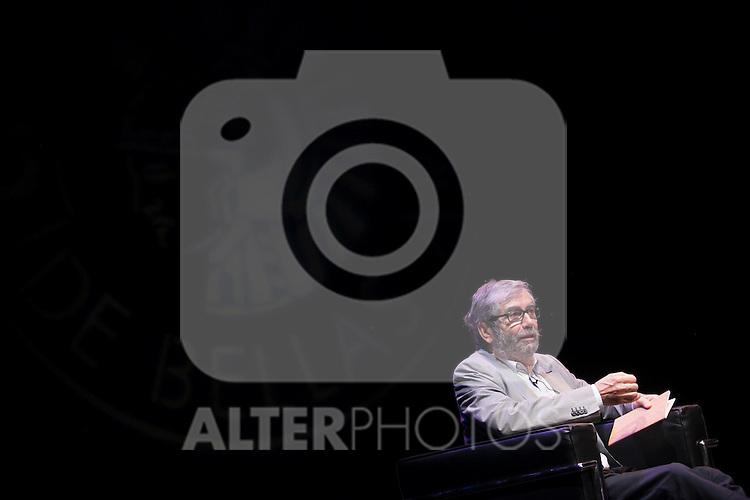 Spanish writer Antonio Munoz Molina during the `Circulo de Bellas Artes´ Golden Medal ceremony in Madrid, Spain. October 06, 2015. (ALTERPHOTOS/Victor Blanco)