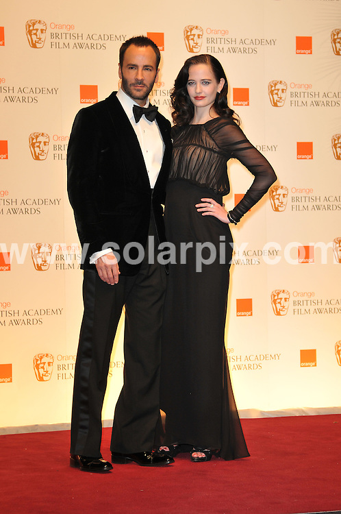 **ALL ROUND PICTURES FROM SOLARPIX.COM**                                             **WORLDWIDE SYNDICATION RIGHTS**                                                                                  Arrivals to the Orange British Academy Film Awards held at The Royal Opera House, London, UK. February 13, 2011                                                                            .This pic:   Tom Ford & Eva Green                                                                                JOB REF:    12796    MSR       DATE:    13.02.11                                                        **MUST CREDIT SOLARPIX.COM OR DOUBLE FEE WILL BE CHARGED**                                                                      **MUST AGREE FEE BEFORE ONLINE USAGE**                               **CALL US ON: +34 952 811 768 or LOW RATE FROM UK 0844 617 7637**