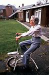 Residential Care Home for the elderly Rushcroft Nursing Home UK. 1990s.