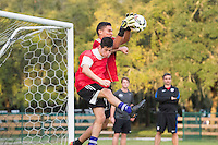 Orlando, FL - Friday Oct. 14, 2016:   Players during a US Soccer Coaching Clinic in Orlando, Florida.