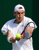 23-06-10, Tennis, England, Wimbledon, Thiemo de Bakker