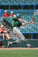 University of South Florida Bulls designated hitter Luke Borders (4) during a game against the Temple University Owls at Campbell's Field on April 13, 2014 in Camden, New Jersey. USF defeated Temple 6-3.  (Tomasso DeRosa/ Four Seam Images)