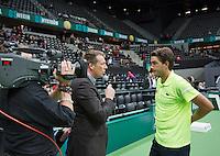10-02-14, Netherlands,Rotterdam,Ahoy, ABNAMROWTT,, , Jesse Huta Galung(NED)<br /> Photo:Tennisimages/Henk Koster