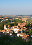 Italien, Piemont, Forneglio und Serralunga di Crea: Weinbau- und Trueffelorte im Monferrato | Italy, Piedmont, Forneglio and Serralunga di Crea: wine villages at region Monferrato
