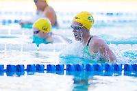 Santa Clara, California - Friday June 3, 2016: Keryn McMaster races breaststroke during the Women's 400 LC Meter IM A final.