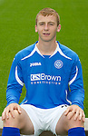 St Johnstone FC...Season 2011-12.Liam Caddis.Picture by Graeme Hart..Copyright Perthshire Picture Agency.Tel: 01738 623350  Mobile: 07990 594431