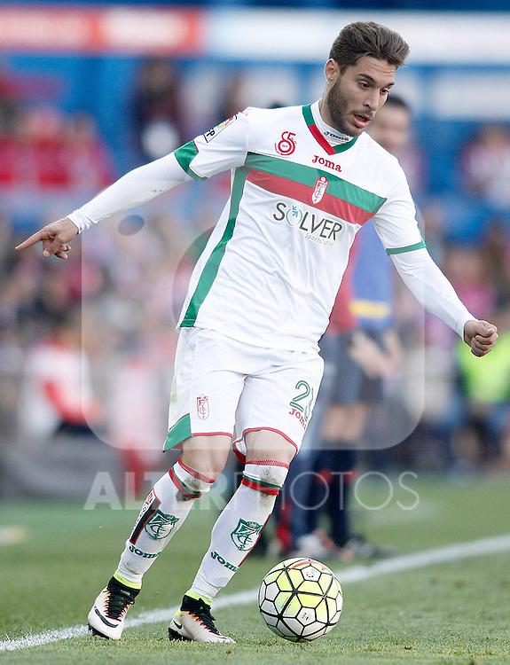 Granada Club de Futbol's Ruben Rochina during La Liga match. April 17,2016. (ALTERPHOTOS/Acero)