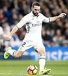 Real Madrid's Daniel Carvajal during La Liga match. March 1,2017. (ALTERPHOTOS/Acero)