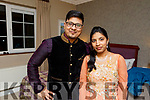 Imran and Mehaeab Baphan, who did a traditional Indian dance in the interval at the Ballymac Strictly Love dancing in the Ballygarry House Hotel on Saturday