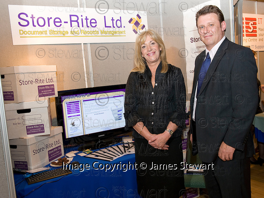 Falkirk Business Exhibition 2011<br /> Store-rite Ltd