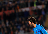 Roma s goalkeeper Alisson during the Champions League Group C soccer match between Roma and Chelsea at Rome's Olympic stadium, October 31, 2017.<br /> UPDATE IMAGES PRESS/Riccardo De Luca