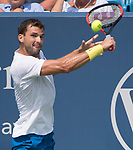 August  19, 2017:  Grigor Dimitrov (BUL) defeated John Isner (USA) 7-6, 7-6 at the Western & Southern Open being played at Lindner Family Tennis Center in Mason, Ohio. ©Leslie Billman/Tennisclix/