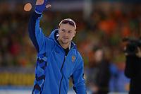 SPEEDSKATING: HEERENVEEN: 11-01-2020, IJsstadion Thialf, European Championship distances, 500m Men, European champion Pavel Kulizhnikov (RUS), ©foto Martin de Jong