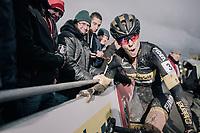 victory for Ellen Van Loy (BEL/Telenet Fidea Lions)<br /> <br /> Women's race<br /> Superprestige Gavere / Belgium 2017