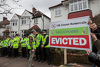 """13.04.2013 - UKuncut presents: """"Who wants to evict a millionaire?"""""""