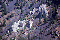 Hoodoos in Similkameen Valley, BC, British Columbia, Canada