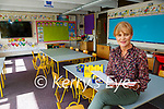 Holy Cross Mercy NS Killarney vice Principal Ann Lucey preparing for the return of school children