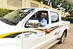 MSH's logistics specialist and driver Felix Nzitatira.