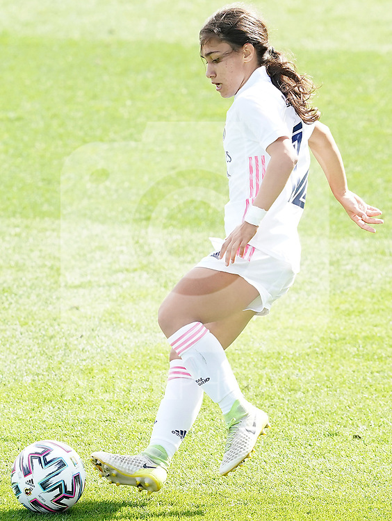 First official match and first classic in the history of women's Real Madrid.<br /> Real Madrid's Lorena Navarro during Spanish Female League match. October 4,2020. (ALTERPHOTOS/Acero)
