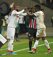 Anthony Modeste (1. FC Koeln) kommt für Jhon Cordoba (1. FC Koeln) - 18.12.2019: Eintracht Frankfurt vs. 1. FC Koeln, Commerzbank Arena, 16. Spieltag<br /> DISCLAIMER: DFL regulations prohibit any use of photographs as image sequences and/or quasi-video.