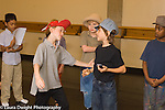 Education elementary school for musically gifted children Grade 2 play rehearsal Midsummer Nights Dream