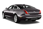 Car pictures of rear three quarter view of 2016 Jaguar XJ Premium Luxury 4 Door Sedan Angular Rear