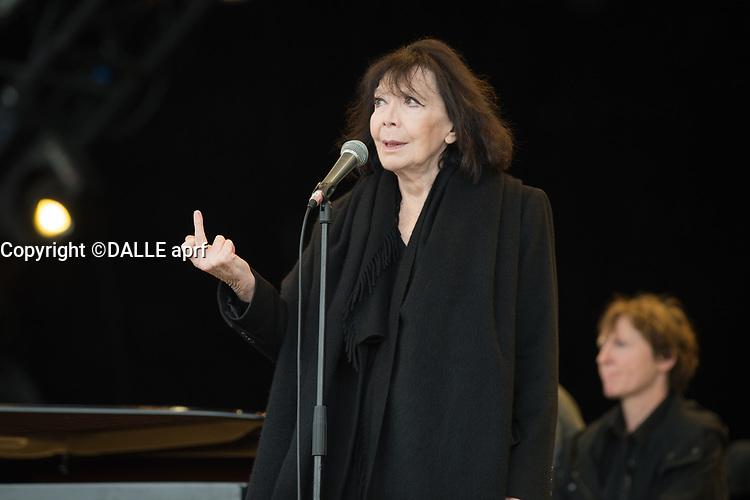 Juliette GReco<br />13/09/2015<br />fete d e l'humanite<br />©  WOLFF PATRiCK/DALLE