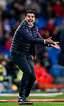 Coach Miguel Angel Sanchez Munoz, Michel, of Rayo Vallecano reacts during the La Liga 2018-19 match between Real Madrid and Rayo Vallencano at Estadio Santiago Bernabeu on December 15 2018 in Madrid, Spain. Photo by Diego Souto / Power Sport Images