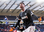 Nadir Ciftci scores the winner and celebrates
