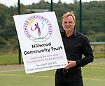 26.08.2019 Hillwood Community Trust football pitches: Tommy Coyne