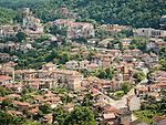 A neighborhood below the top of Tsarevets Hill, Veliko Tarnovo, Bulgaria