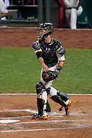 San Francisco Giants catcher Buster Posey during the MLB All-Star Game on July 14, 2015 at Great American Ball Park in Cincinnati, Ohio.  (Mike Janes/Four Seam Images)