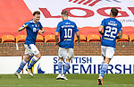 Dundee United v St Johnstone…..01.08.20   Tannadice  SPFL<br />Liam Craig celebrates scoring his goal to make it 1-1<br />Picture by Graeme Hart.<br />Copyright Perthshire Picture Agency<br />Tel: 01738 623350  Mobile: 07990 594431