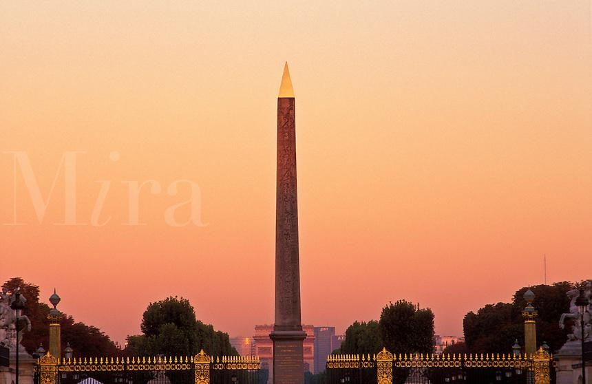 France, Paris, Place de la Concorde, the Obelisk