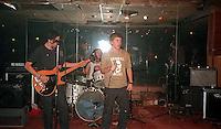 Rabid Lassie at the Vis. Mike Pare, Gary Mole, Joey Vela; San Francisco, CA<br />