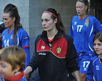Qualification Women's Euro 2013 - Belgium - Iceland ; Belgie - Ijsland ; Armand Melis Stadion Dessel :.Tessa Wullaert.foto DAVID CATRY / Vrouwenteam.be