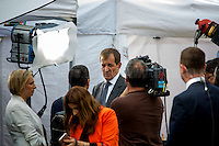 Alastair Campbell (British journalist, broadcaster, political aide and author, best known for his work as Director of Communications and Strategy for prime minister Tony Blair between 1997 and 2003).<br /> <br /> London, 24/06/2016. The United Kingdom decided to leave the European Union. The British people voted (Turnout 72.2%): 51,9% to leave the EU (17,410,742 Votes) versus 48,1% to remain in the EU (16,141,241 Votes).<br /> <br /> For the full caption please find the 2-page PDF attached at the beginning of this story.<br /> <br /> For more information abou the result please clich here: http://www.bbc.co.uk/news/politics/eu_referendum/results