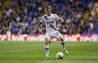 Tom Carroll of Tottenham Hotspur looks for options during the UEFA Europa League match between Tottenham Hotspur and Qarabag FK at White Hart Lane, London, England on 17 September 2015. Photo by Andy Rowland.