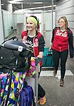 Brittany Hudak, Sochi 2014.<br /> Team Canada arrives at the airport in Sochi for the Sochi 2014 Paralympic Winter // Équipe Canada arrive à l'aéroport de Sotchi pour Sochi 2014 Jeux paralympiques d'hiver. 03/03/2014.