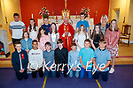 O'Brennan NS pupils who were confirmed on Thursday last in St Brendan's Church, Clogher