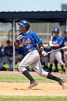 Gilbert Gomez of the Gulf Coast League Mets during the game against the Gulf Coast League Nationals June 27 2010 at the Washington Nationals complex in Viera, Florida.  Photo By Scott Jontes/Four Seam Images