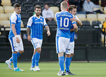 East Fife v St Johnstone…29.07.17… Bayview… Pre-Season Friendly<br />Stefan Scougall celebrates his gola with David Wotherspoon<br />Picture by Graeme Hart.<br />Copyright Perthshire Picture Agency<br />Tel: 01738 623350  Mobile: 07990 594431