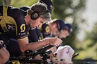 Damien Howson (AUS/ORICA-Scott) warming up<br /> <br /> Men's Team Time Trial<br /> <br /> UCI 2017 Road World Championships - Bergen/Norway