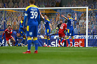 Max Watters (36) of Crawley Town scores the second goal for his team during AFC Wimbledon vs Crawley Town, Emirates FA Cup Football at Plough Lane on 29th November 2020