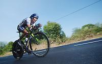 Nairo Quintana (COL)<br /> <br /> Tour de France 2013<br /> stage 11: iTT Avranches - Mont Saint-Michel <br /> 33km
