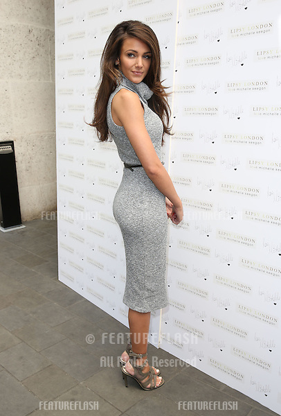 Michelle Keegan for Lipsy photocall at the ME hotel - Arrivals <br /> London, England. 07/05/2015 Picture by: James Smith / Featureflash