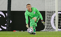 ST. GALLEN, SWITZERLAND - MAY 30: Ethan Horvath #1 passes off the ball during a game between Switzerland and USMNT at Kybunpark on May 30, 2021 in St. Gallen, Switzerland.
