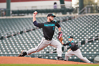 J.P. Shaw (8) of Mansfield High School in Mainesburg, Pennsylvania during the Under Armour All-American Pre-Season Tournament presented by Baseball Factory on January 14, 2017 at Sloan Park in Mesa, Arizona.  (Freek Bouw/MJP/Four Seam Images)