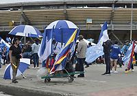 BOGOTÁ – COLOMBIA, 20-06-2021: Millonarios F.C. y Deportes Tolima en partido por la final vuelta como parte de la Liga BetPlay DIMAYOR I 2021 jugado en el estadio Nemesio Camacho El Campin de la ciudad de Bogotá. / Millonarios F.C. and Deportes Tolima in the second leg final match as part of BetPlay DIMAYOR League I 2021 played at Nemesio Camacho El Campin Stadium in Bogota city. Photos: VizzorImage / Gabriel Aponte / Staff