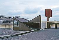 Cumbernauld: Megastructure Roof--detail. Photo '90.